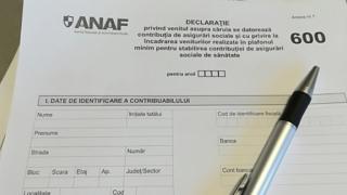 Declaraţia 600, AMÂNATĂ până la 1 martie 2018