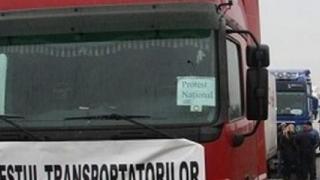 Transportatorii ameninţă cu proteste şi creşteri de tarife