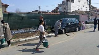Amplă acțiune de igienizare pe strada Semănătorului din Constanța!