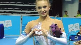 Gimnastică ritmică: Ana Luiza Filiorianu s-a calificat la Jocurile Olimpice de la Rio