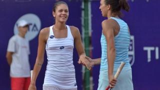 Andreea Mitu şi Patricia Ţig, victorie în proba de dublu a calificărilor de la Wimbledon