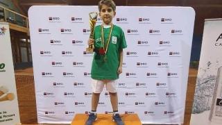Andrei Timaru, campion național la tenis de câmp, pentru al doilea an consecutiv