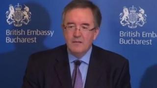 Noul ambasador al Marii Britanii la Bucureşti va vizita baza militară de la Kogălniceanu