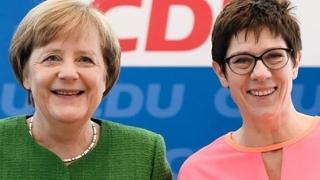 Annegret Kramp-Karrenbauer, favorită în sondaje pentru postul de cancelar al Germaniei