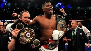 Anthony Joshua l-a învins pe Vladimir Kliciko și a unificat centurile WBA, IBF și IBO