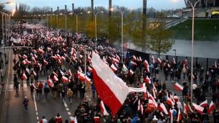 Mii de manifestanți pro-Pegida și antiimigrație au protestat