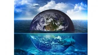 Apa a existat pe Terra înainte de coliziunea cu Theia, în urma căreia s-a format Luna