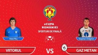 Viitorul, eliminată din eCupa României