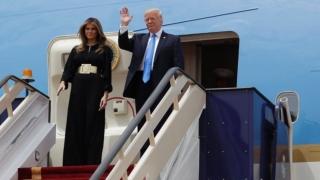 Donald Trump a sosit sâmbătă dimineața la Riad