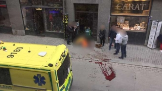 Atacatorul de la Stockholm a fost arestat. Este posibil simpatizant al Stat Islamic