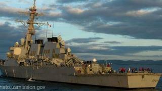 Armata rusă, cu ochii pe distrugătorul american USS Ross