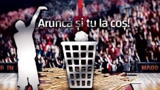 """BC Athletic Constanța lansează campania ,,Aruncă la coș"""""""