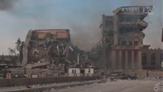 Forțele de securitate irakiene au luat cu asalt aeroportul din Mosul
