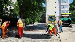 O nouă parcare prinde contur pe strada Dionisie cel Mic din Constanța