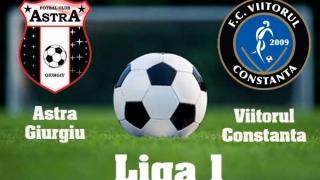 Astra Giurgiu-Viitorul Constanța 2-0, în prima etapă din play-off-ul Ligii 1