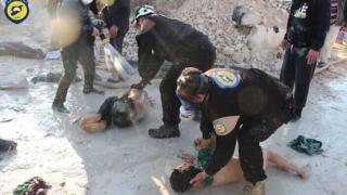 Dovezi că gazul sarin a fost folosit în atacul chimic din Siria