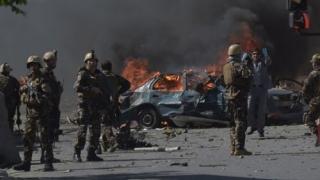 Zeci de militari, morți după un atac al talibanilor