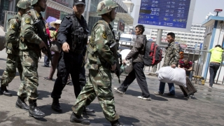 Atac sinucigaș contracarat în China