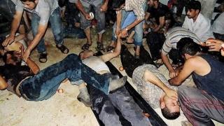 Zeci de morţi, printre care și copii, și sute de răniți! Reacția SUA și a Rusiei