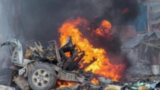 Atac cu maşină-capcană în apropierea unui hotel din Somalia