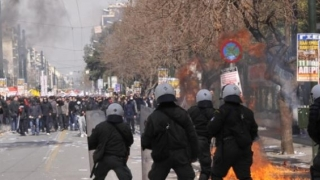 Proteste la Atena împotriva folosirii numelui de Macedonia de către FYROM
