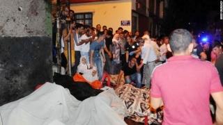Atentat în Turcia! Zeci de persoane şi-au pierdut viaţa la o nuntă!