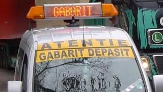 Atenție, șoferi! Gabarit depășit spre Poarta 7