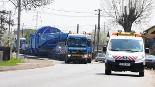 Atenţie, şoferi! Transport agabaritic pe ruta Constanța - Craiova