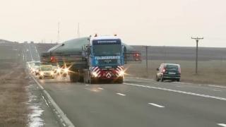 Atenție! Transport agabaritic pe ruta Buzău - Constanţa Poarta 7