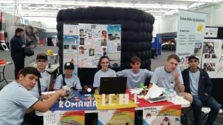 Aur pentru elevi constănțeni la First Lego League International Open Championship