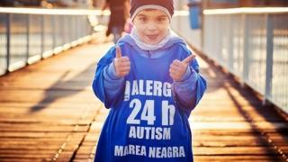 Podium feminin la Ultramaratonul Autism24h