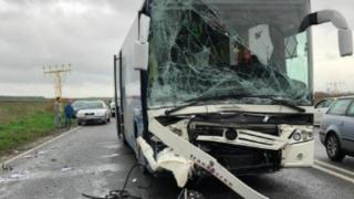 Accident grav, cu mai multe victime, în zona Aeroportului Mihail Kogălniceanu