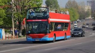 Autobuzele etajate și telegondola funcționează în vacanța de Paști