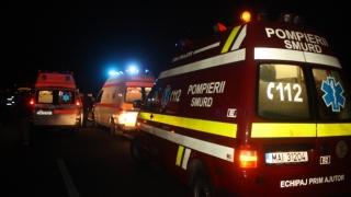 Plan roșu de intervenție: zeci de răniți într-un accident rutier