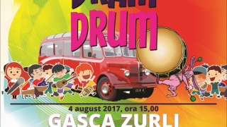 Autobuzul Dram Drum – Gașca Zurli, educaţie, cultură şi joc, la Şcoala Veseliei
