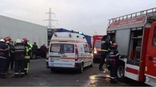 Autocar cu 50 de pasageri, implicat într-un accident pe DN1