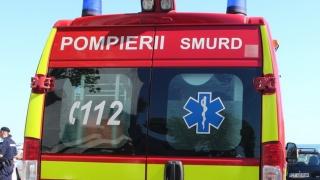 Autospecială SMURD implicată într-un accident cu șase victime
