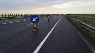 Trafic restricționat pe Autostrada A2 București - Constanța