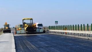 Reîncep lucrările de reparații pe Autostrada A2, sectorul din beton