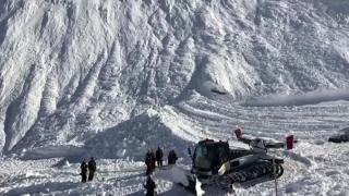 O avalanșă a avut loc în stațiunea Tignes din Alpii francezi