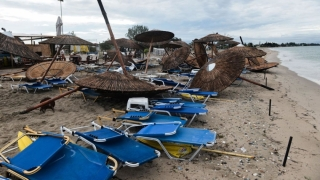 Avertisment MAE: furtuni puternice în Halkidiki!