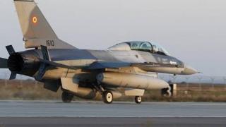 F16 din dotarea Armatei Române vor începe executarea Serviciului de Luptă Poliţie Aeriană