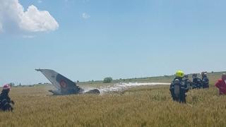 Alertă! Avion prăbușit în apropiere de Mihail Kogălniceanu