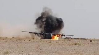 Trei morţi, după ce un avion militar a luat foc la sol, în Portugalia