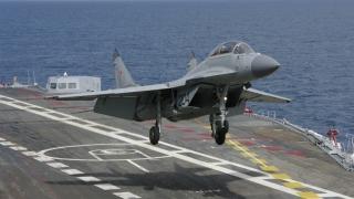 Avion militar rus MiG-29, prăbuşit în Marea Mediterană