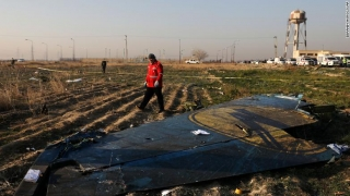 Avionul ucrainean, doborât probabil de o rachetă antiaeriană