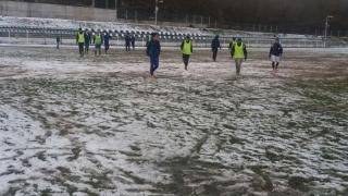 Fotbaliștii de la Axiopolis Cernavodă au revenit la antrenamente