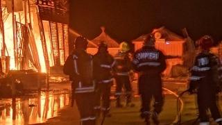 Incendiu devastator la clubul Silence, fost Bamboo, din Mamaia Nord - UPDATE