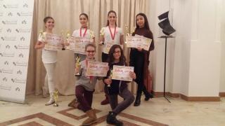 """Balerinii de la Colegiul de Arte """"Regina Maria"""", premiați la Bacău"""