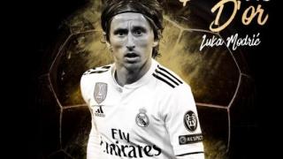 Croatul Luka Modric a câştigat Balonul de Aur